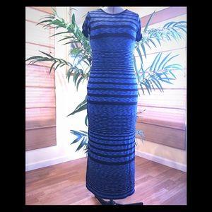 👗 Michael Kors striped maxi dress 👗